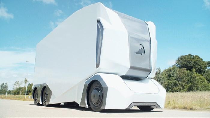 Caminhão autônomo da Einride pode parecer peculiar, mas funciona