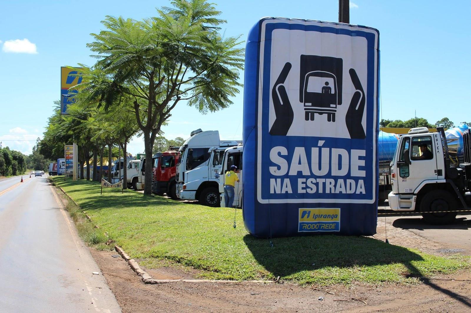 Posto Ipiranga oferece exames médicos gratuitos para caminhoneiros