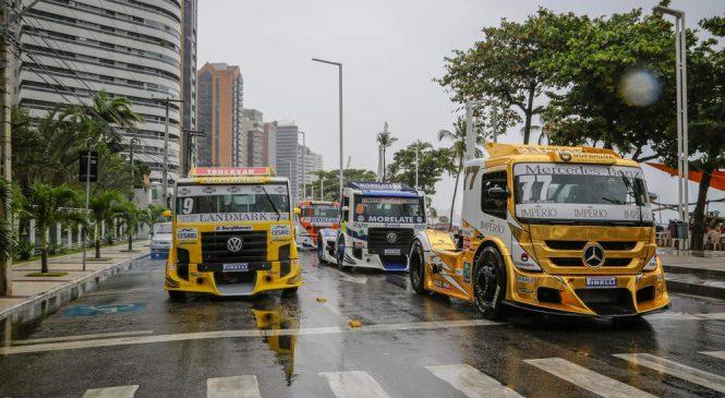 No topo! Paulista, Giaffone é campeão do regional Nordeste na Copa Truck