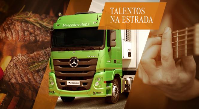 As estradas têm talentos. A Mercedes-Benz os encontra