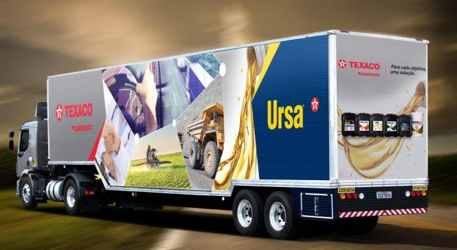 Texaco apresenta novo conceito da marca Ursa. Lançamento ocorre durante a 28ª Feira do Caminhoneiro