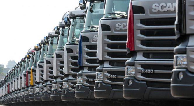 Vendas da Scania crescem no primeiro semestre