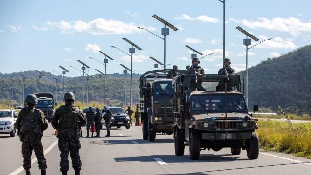 Roubos de cargas diminuem 30% no Rio nos primeiros dias de operação das Forças Armadas