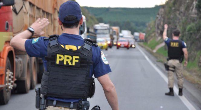 Megaoperação de fiscalização do transporte rodoviário de carga em Cuiabá (MT) já fez mais de 40 flagrantes