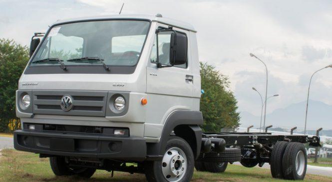 VW 8.160: o caminhão mais vendido no Brasil.