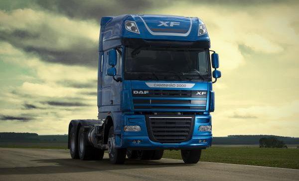 DAF entrega caminhão de número dois mil produzido no Brasil