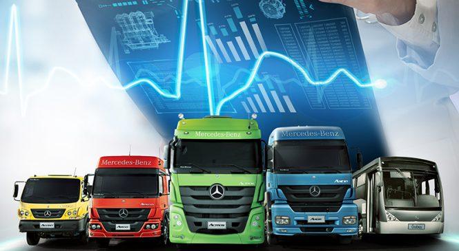 Mercedes-Benz faz avant-première de serviços para a Fenatran