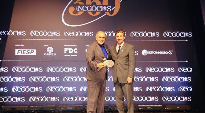 Braspress recebe prêmio da Revista Época Negócios