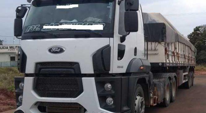 Empresa de MT é multada em R$10,2 mil por transporte ilegal de madeira em MS
