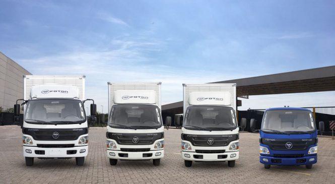 Caminhões Foton agora nacionais