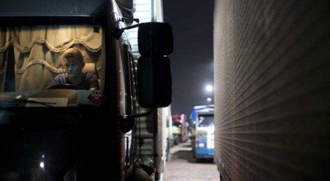 Caminhoneiros sofrem com saúde precária
