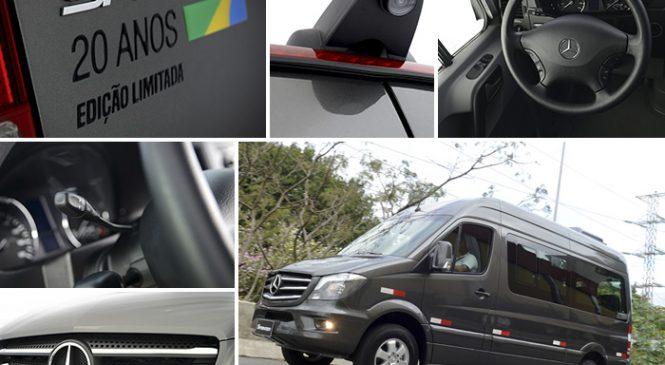 Mercedes-Benz lança edição especial para comemorar os 20 anos da Sprinter no Brasil