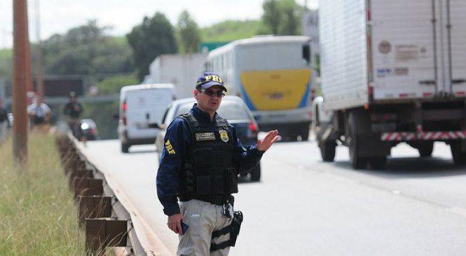 Feriado de 7 de setembro terá reforço de 800 policiais nas rodovias federais