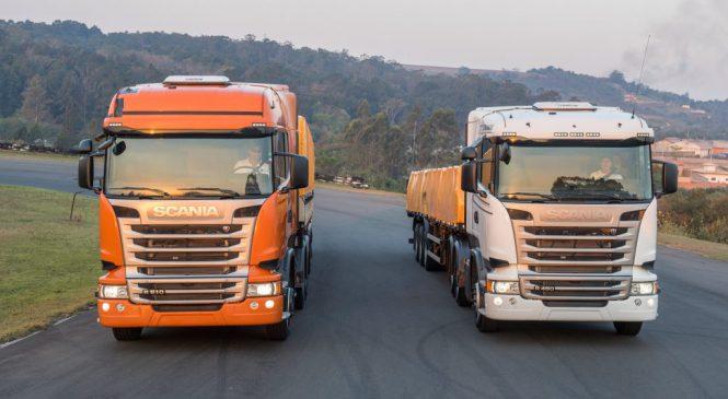 Scania foca em motorista, produtos e serviços na Fenatran