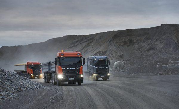 Caminhão Scania para a construção agora tem nome: XT.