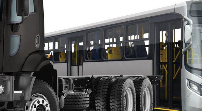 Crescem as vendas de caminhões e ônibus