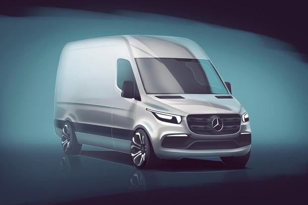 Mercedes-Benz apresenta primeira imagem da nova Sprinter