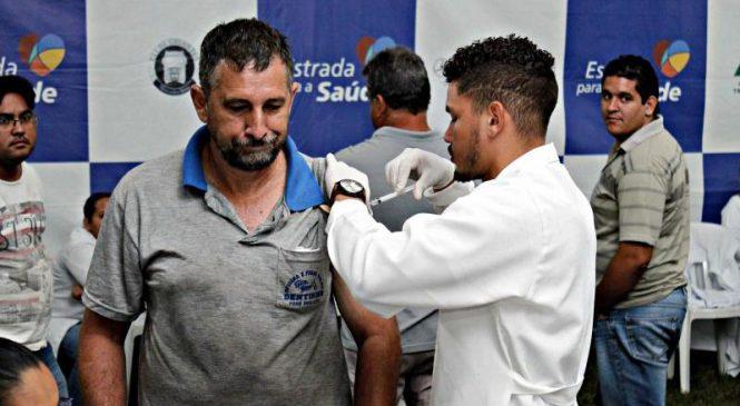 Mais de 80 caminhoneiros participam de ação de saúde da CCR MSVia