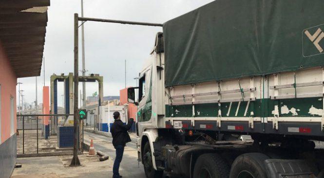 Porto de Paranaguá: Novo scanner garante segurança em 100% das cargas
