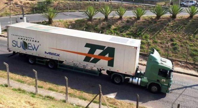 Transportadora Americana testa semirreboque alimentado por energia solar