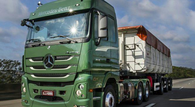 Mercedes-Benz é a marca de caminhão mais desejada pelos motoristas