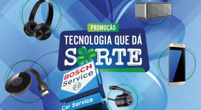 """Rede Bosch Car Service realiza promoção """"Tecnologia que dá sorte"""""""