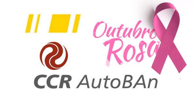 CCR AutoBAn divulga movimento Outubro Rosa no Sistema Anhanguera-Bandeirantes
