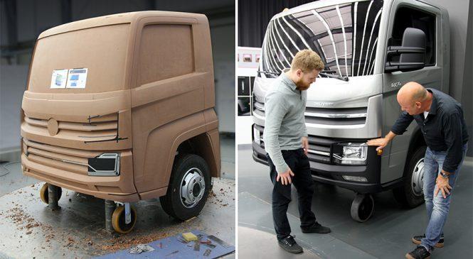 Design da nova família Delivery revela robustez e potência dos veículos