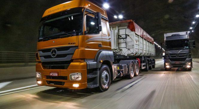 Mercedes-Benz lança linha 2018 de caminhões