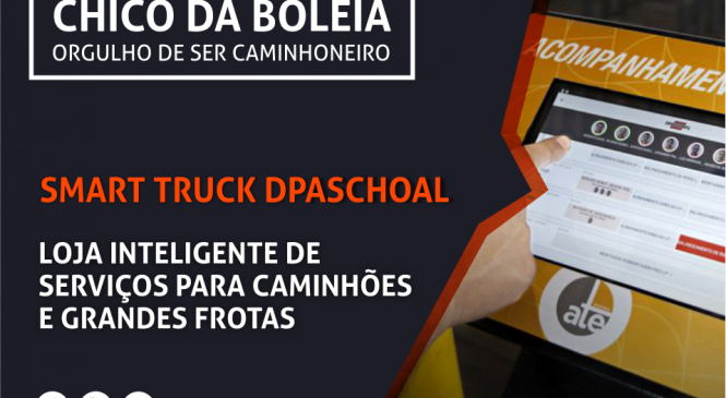 [VÍDEO] Smart Truck da Dpaschoal, loja inteligente de serviços para caminhões e grandes frotas