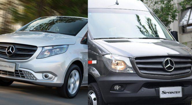 Vans Sprinter e Vito são eleitas as melhores  da categoria pelo Guia de Melhor Compra 2017