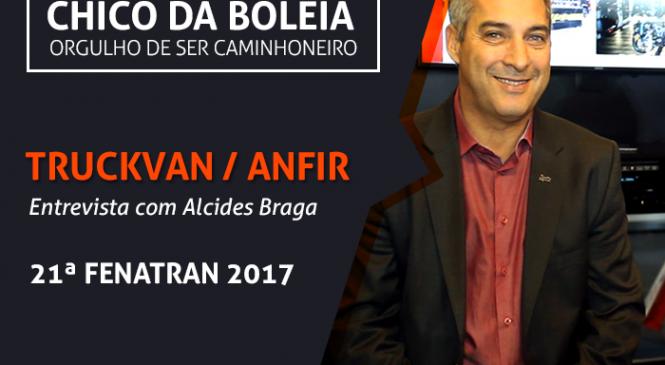 [VÍDEO] TRUCKVAN/ANFIR, entrevista com Alcides Geraldes Braga – 21ª FENATRAN 2017
