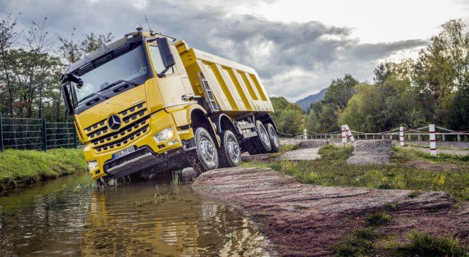 Arocs, o mestre de obras da Mercedes-Benz na Europa