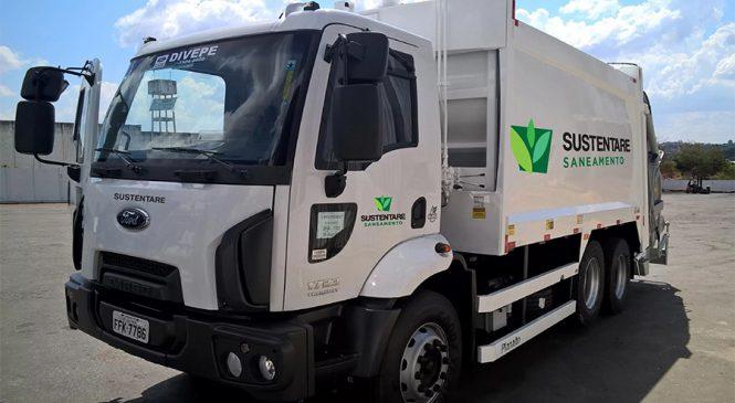 Ford exibe o Cargo 1723 Kolector Torqshift na feira Waste Expo Brasil 2017