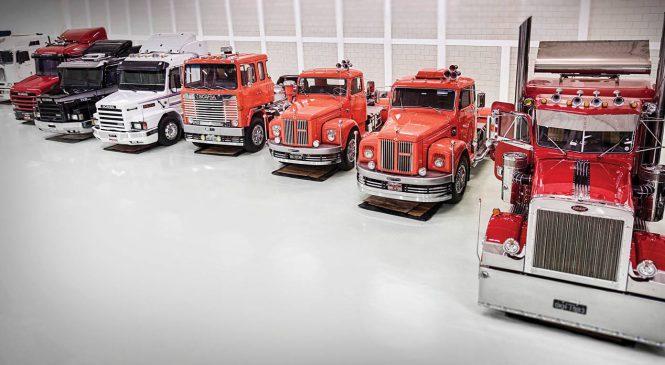 Paulista coleciona mais de 30 caminhões em um galpão de 3.000 m²