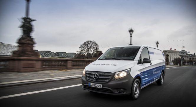 eVito: o primeiro elétrico dos comerciais leves da Mercedes-Benz