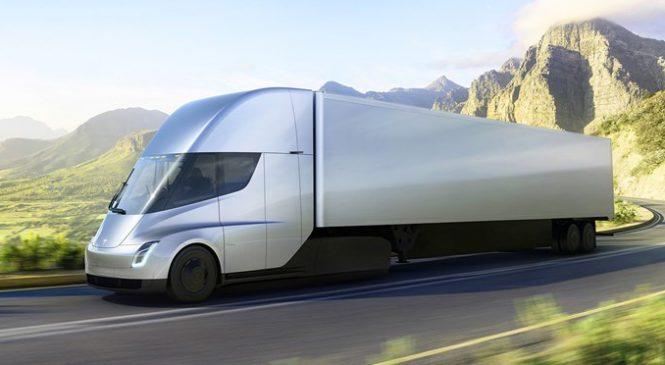 Caminhão elétrico Tesla Semi pode ser ainda mais econômico que o estimado