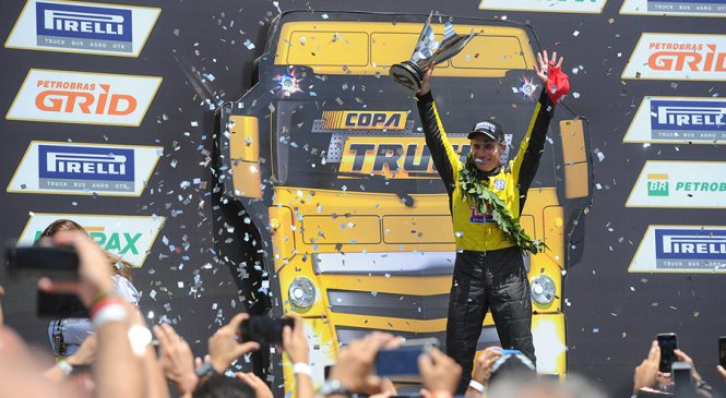 Giaffone é o grande campeão da Copa Truck em 2017