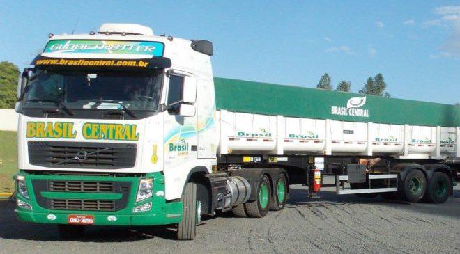 Brasil Central divulga 40 vagas para motoristas carreteiros em GO