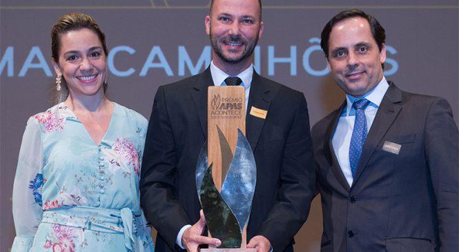 MAN Latin America recebe Prêmio Apas Acontece 2017