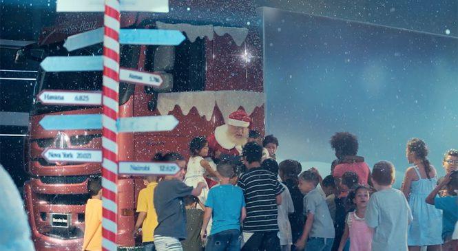"""Mercedes-Benz leva crianças ao """"Polo Norte""""  em campanha de Natal"""