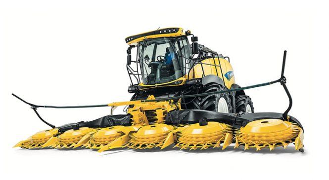 Lançamento de máquina pesada brutal: Veja em ação a nova New Holland FR920 (com motor de 923 cv)