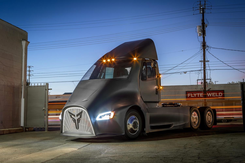 Thor Trucks ET1 é um caminhão elétrico que quer concorrer com Tesla Semi