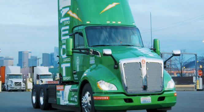 Hidrogênio como alternativa ao transporte de carga