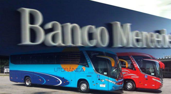 Banco Mercedes-Benz lança seguro para ônibus rodoviários