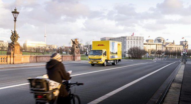Os Fuso eCanter entram em ação na Europa