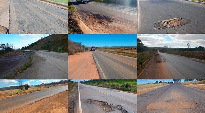 Veja o ranking das piores ligações rodoviárias do Brasil
