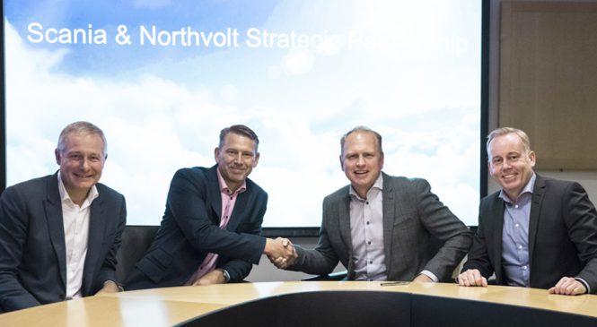 Scania e Northvolt fecham parceria para eletrificação de veículos pesados