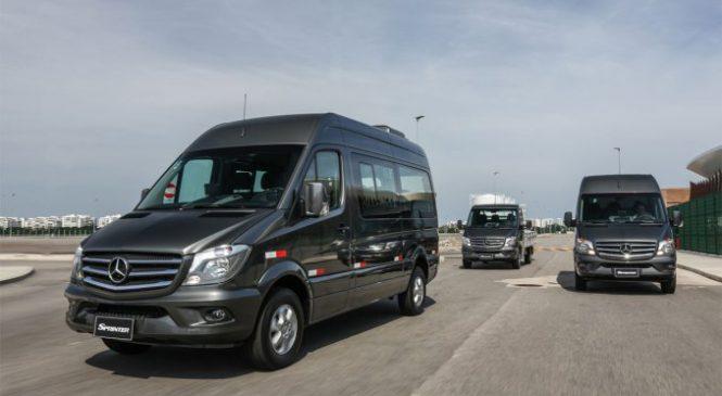Sprinter retoma liderança em vendas de veículos Large Vans