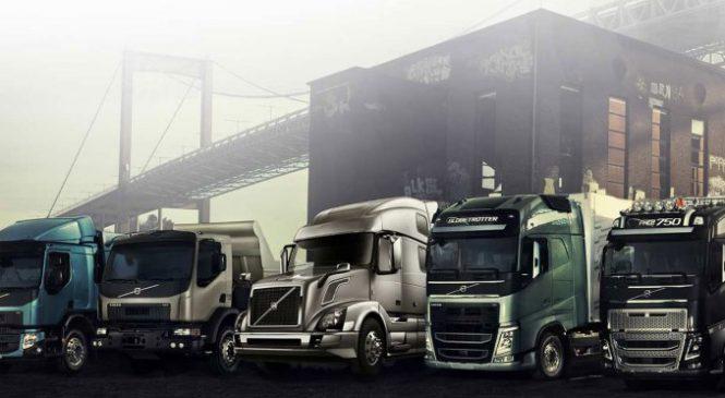 Geely compra 8,2% da Volvo Trucks